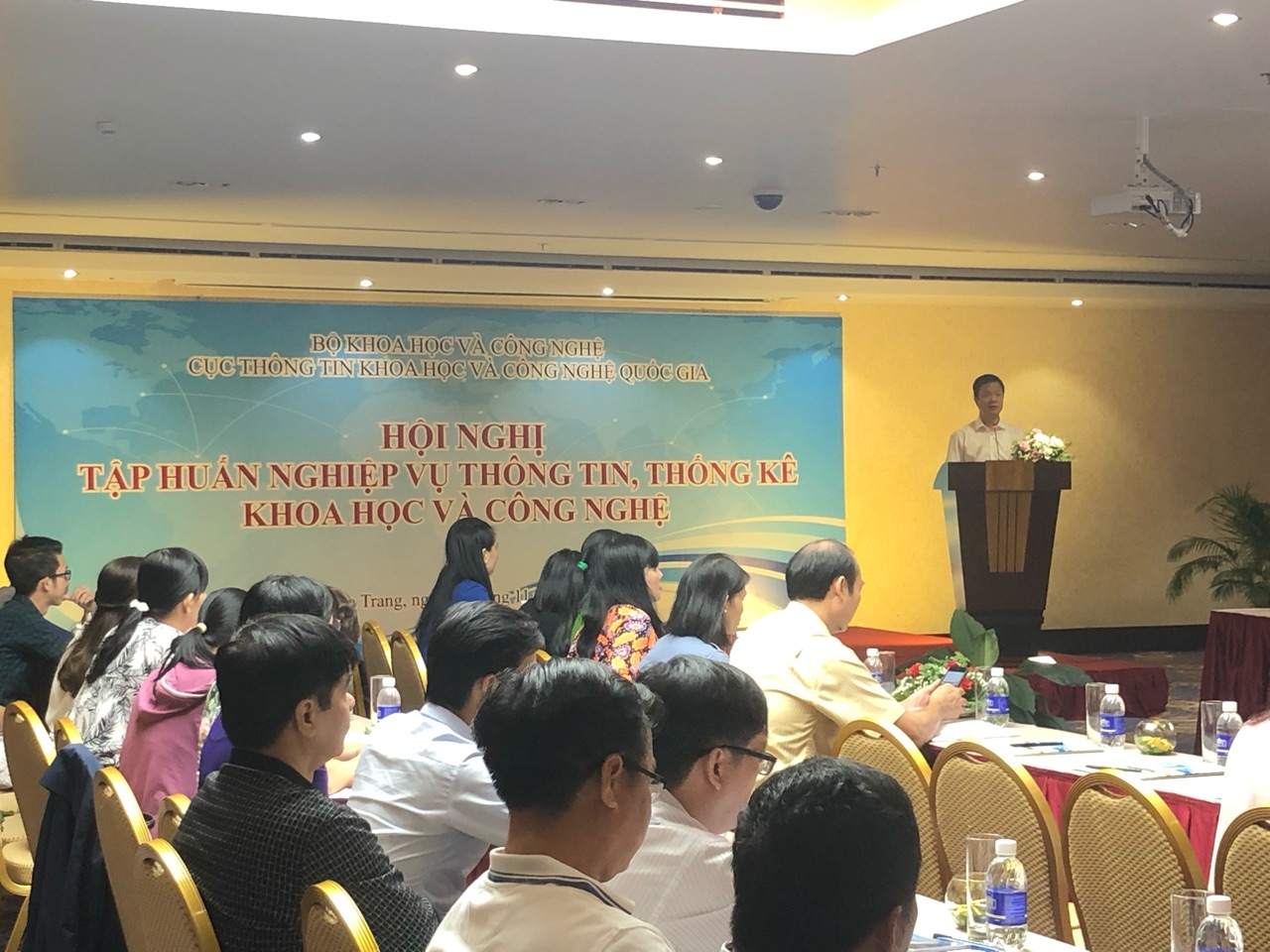 Dong Nai Department of Science and Technology (DOST) participated in the training conference on scientific and technological information and statistics