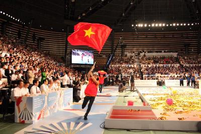 Lac Hong University has become the champion of the Asia Pacific Robocon for the second time