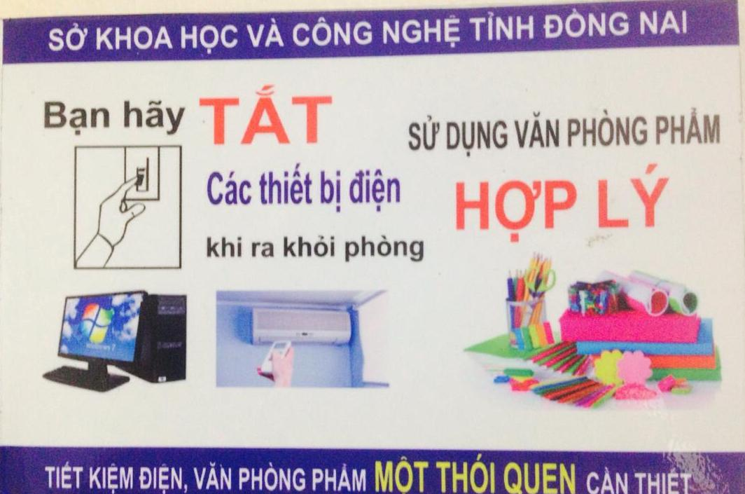 Dong Nai Department of Science and Technology (DOST) has enhanced its solutions for saving energy