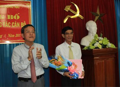 Mr. Doan Tan Dat, Chief of the Planning Division at Dong Nai Department of Information and Communications appointed as Deputy Director of Dong Nai Department of Science and Technology