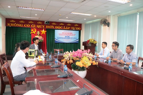 The GEM Platform mission from South Korea had a working session at Dong Nai Department of Science and Technology (DOST)