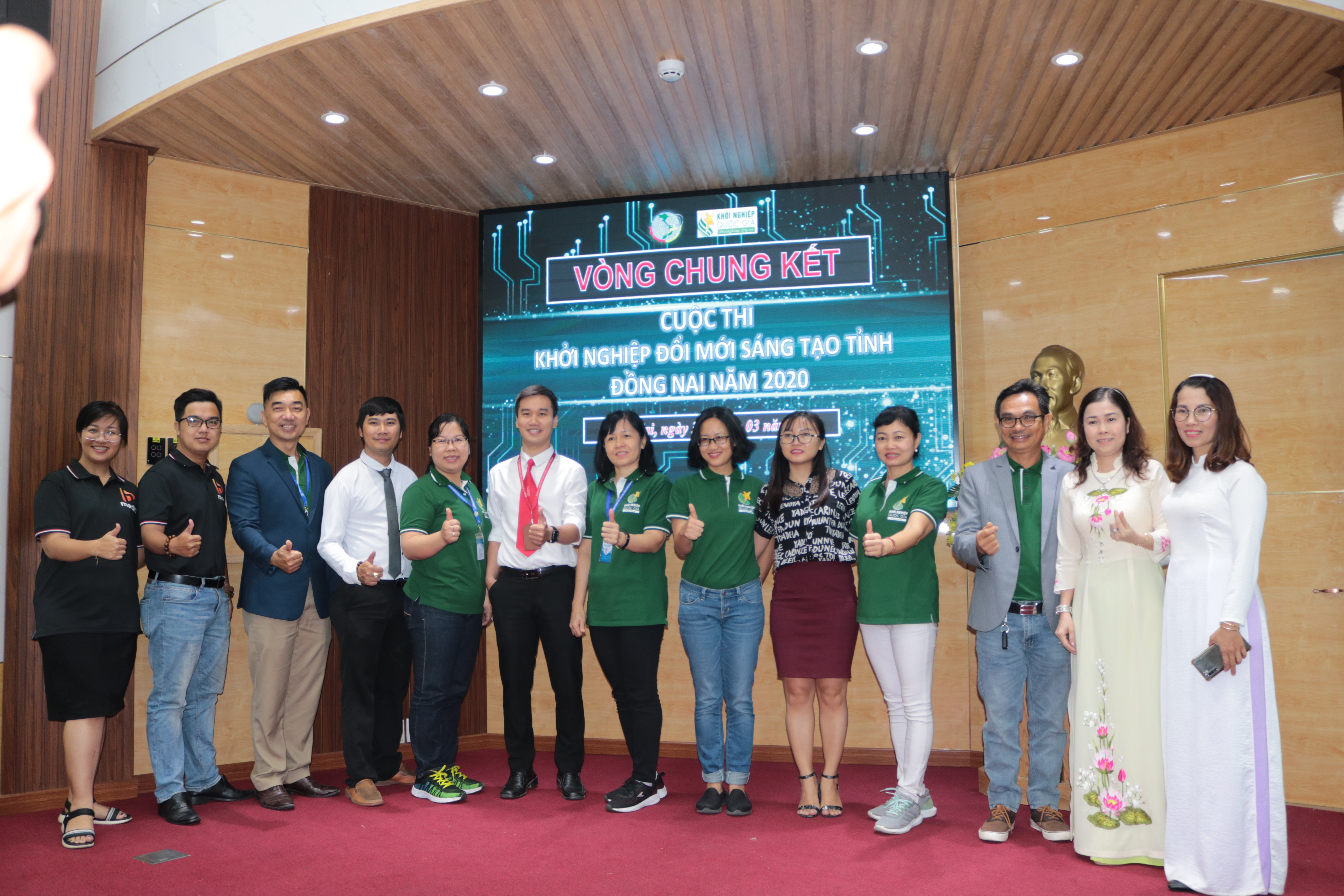 The final round of Dong Nai Startup Innovative Contest held