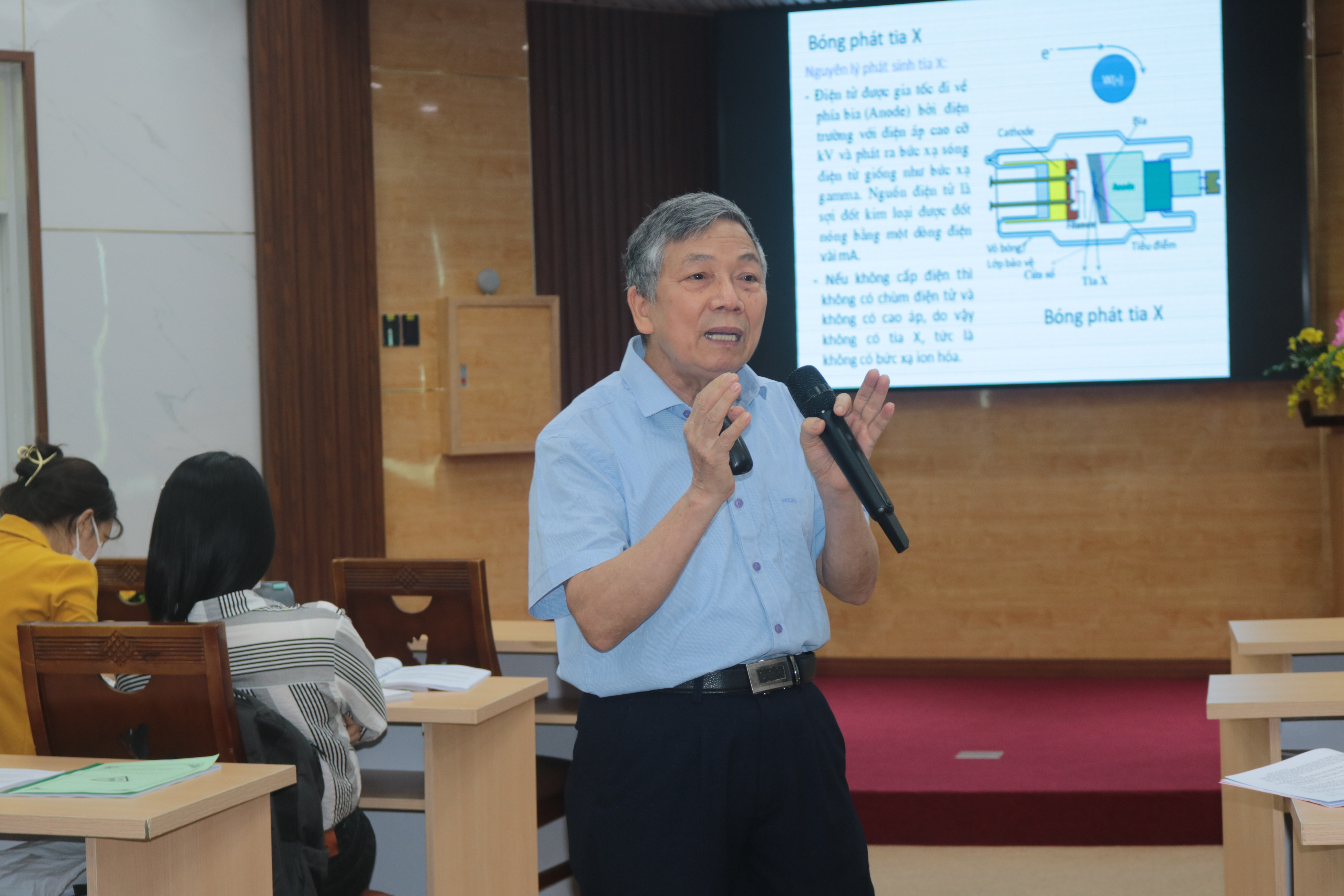 Radiation safety training given to more than 60 units