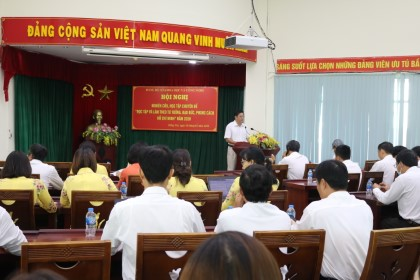The Party Committee of Dong Nai Department of Science and Technology completed its tasks in 2020 successfully