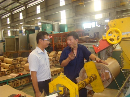 Nguyen Anh Huy, a young engineer with a lot of effective initiatives
