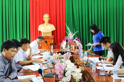 Dong Nai Department of Science and Technology (DOST) had a working session on scientific and technological activities with Dinh Quan district.