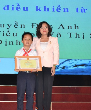 Dong Nai: 3 solutions won the awards at the 13th National Creativity Contest for Teenagers and Children