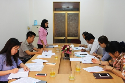 Dong Nai Department of Science and Technology (DOST) had a working session with Long Khanh town