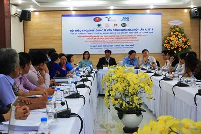 Hội thảo khoa học Quốc tế viễn cảnh Đông Nam bộ lần thứ I-2018