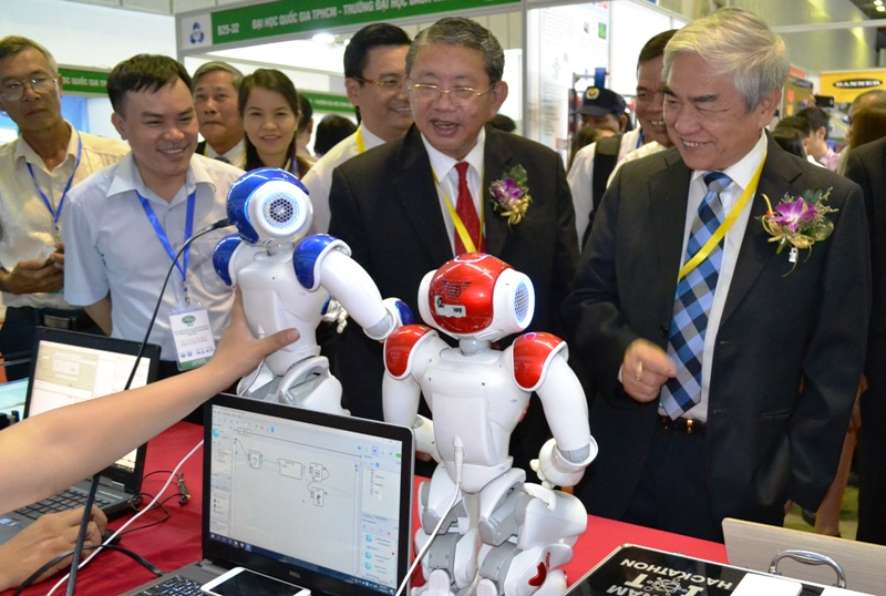 The 4th Vietnam International Conference and Exhibition on Control and Automation - VCCA 2017 kicks off