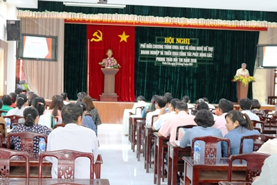 The scientific and technological movements and contests launched in Vinh Cuu district