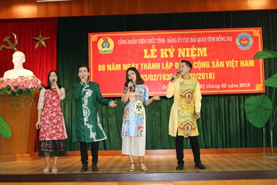 The Labor Union of the provincial Civil Servants celebrated the 88th Anniversary of Founding of the Communist Party of Vietnam