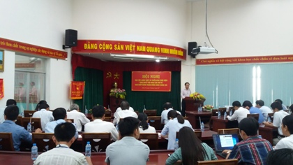 Dong Nai Department of Science and Technology disseminated the resolution of the 4th Plenum of the 12th Party Central Committee to its officials and Party members
