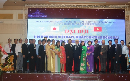 Đại hội Hội hữu nghị Việt Nam – Nhật Bản tỉnh Đồng Nai lần thứ I: PGS.TS Phạm Văn Sáng được bầu giữ chức Chủ tịch Hội