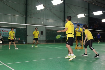 The badminton competition of the Center for Standards, Metrology and Quality