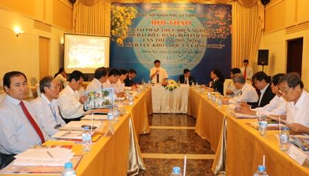 Tập trung các giải pháp cụ thể hóa Nghị quyết Đại hội Đảng bộ tỉnh về phát triển KH&CN