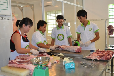 Dong Nai is developing and implementing the traceability project that can trace the origin of livestock products