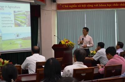 Trao đổi thông tin trên lĩnh vực nông nghiệp công nghệ cao