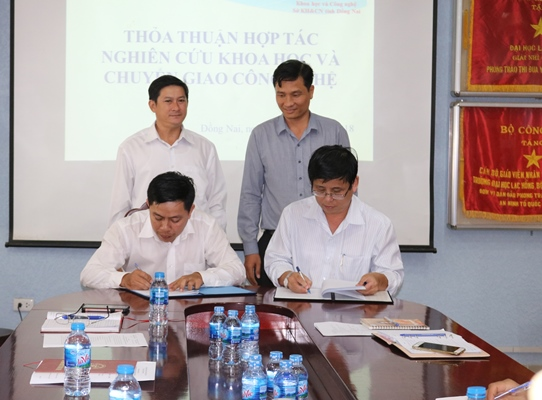 Dong Nai Department of Science and Technology (DOST) and Lac Hong University to collaborate in science and technology research and transfer
