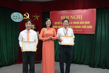 The Party Committee of Dong Nai Department of Science and Technology convened a preliminarily meeting to review the Party's activities in the first half of 2019