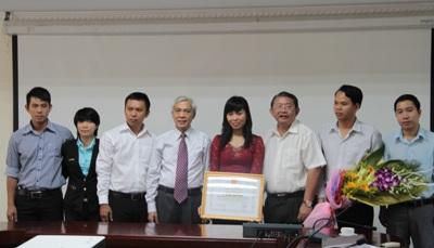 Chi cục trưởng Chi cục TC-ĐL-CL tỉnh Đồng Nai được tặng Bằng khen của Bộ KH&CN