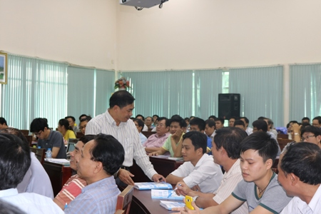 More than 200 trainees took the training course on the radiation safety training in the sectors of health and industry