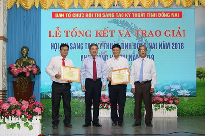 18 solutions that won prizes at the Dong Nai Technological Innovation Contest 2018