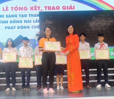 The 2018 Creativity Contest for Teenagers and Children prizes awarded
