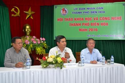 TP.Biên Hòa: Tổ chức Hội thảo triển khai nhân rộng các mô hình ứng dụng công nghệ cao