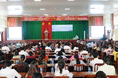 Nearly 250 delegates attended the conference to disseminate the information on the scientific and technological movements and contests in 2018.