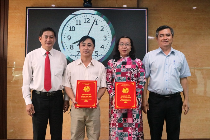 Awards given to for the outstanding examples in February, 2021